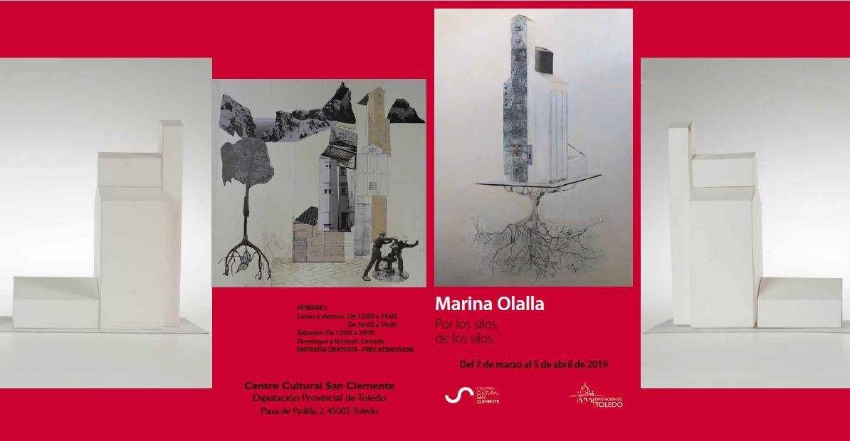 """http://www.toledo.es/wp-content/uploads/2019/02/por-los-silos-de-los-silos.jpg. Exposición Marina Olalla """"Por los silos de los silos"""""""