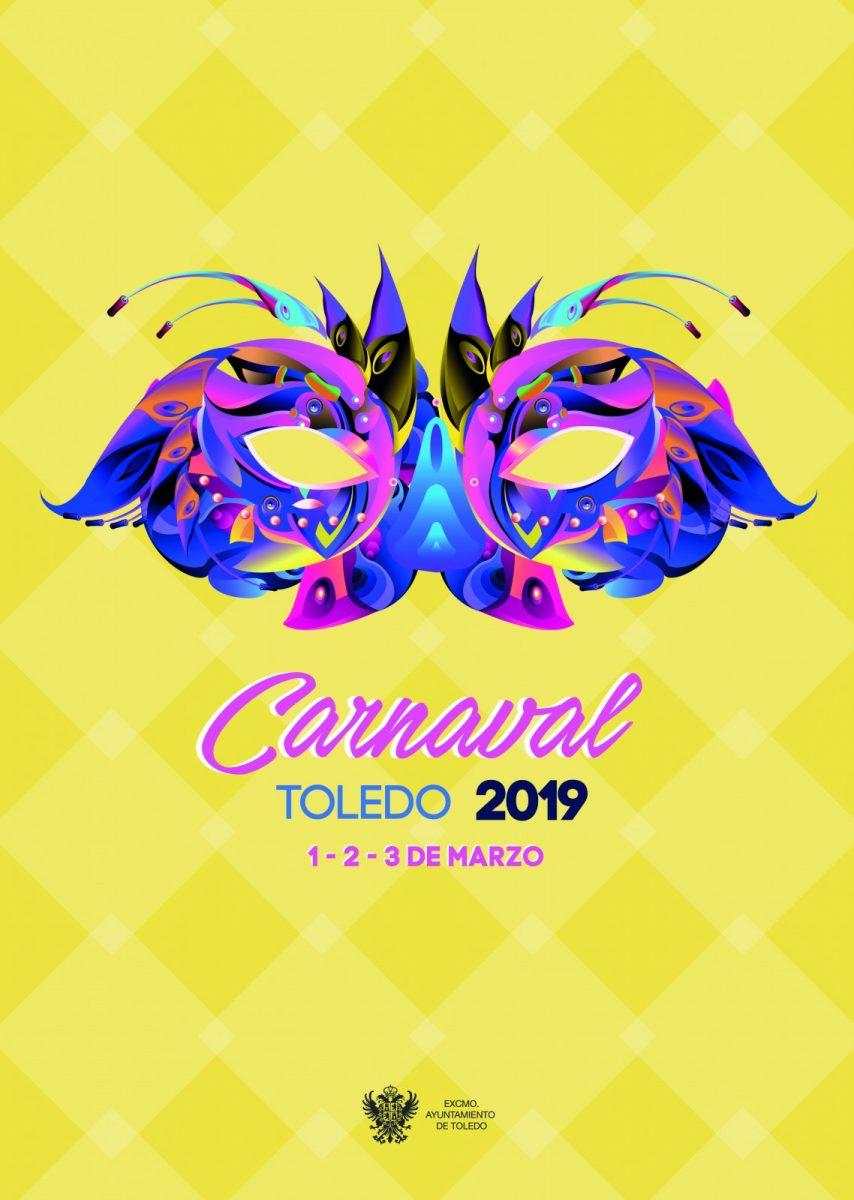 http://www.toledo.es/wp-content/uploads/2019/02/portada-1-854x1200.jpg. Programa Carnaval 2019