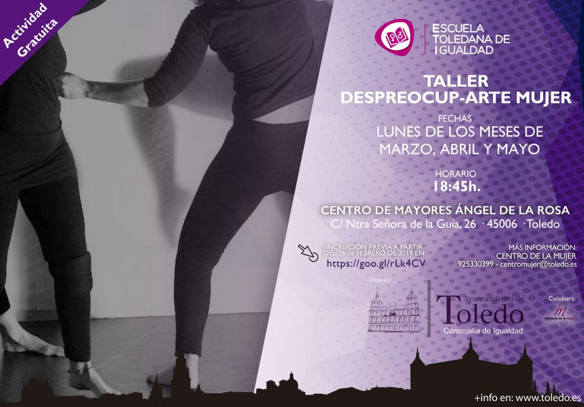 """http://www.toledo.es/wp-content/uploads/2019/02/taller-despreocup-arte-mujer-1200x836.jpg. TALLER """"DESPREOCUP-ARTE MUJER"""" DE LA ESCUELA TOLEDANA DE IGUALDAD COMPLETO."""