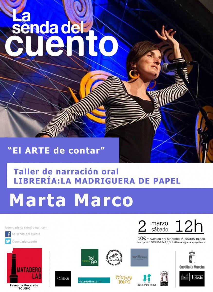 https://www.toledo.es/wp-content/uploads/2019/02/taller-marta-marco-2019-copia-875x1200.jpg. LA SENDA DEL CUENTO