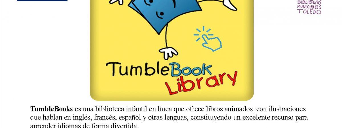 TumbleBook Library biblioteca infantil en línea, ofrece…