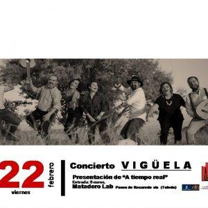 """Concierto de Vigüela- Presentación de """"A tiempo real"""""""