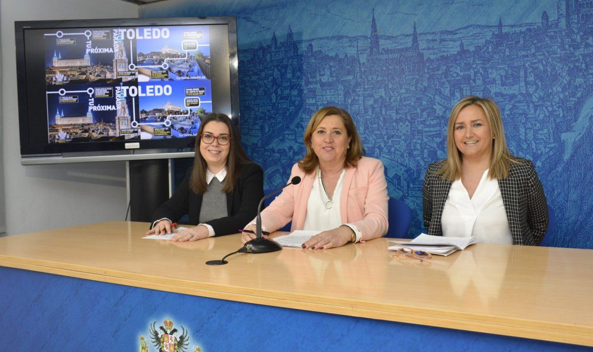 https://www.toledo.es/wp-content/uploads/2019/03/01-rp-campana-turismo-1200x713.jpg. La campaña 'Tu próxima parada, Toledo' en el Intercambiador de Príncipe Pío de Madrid prevé un impacto de 200.000 personas al día