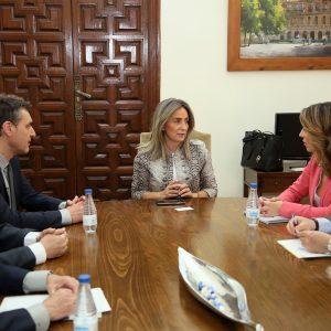 yuntamiento y Gobierno de España analizan los resultados del Plan Integral de Apoyo a la Competitividad del Comercio Minorista