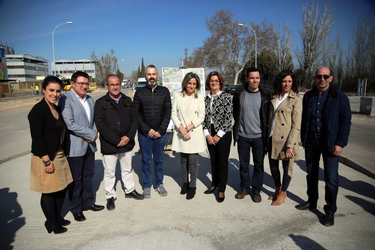 """http://www.toledo.es/wp-content/uploads/2019/03/12_obra_poli_industrial-1200x800.jpg. Milagros Tolón: """"En dos años habremos destinado a nuestro Polígono Industrial más de 3 millones de euros en inversiones"""""""