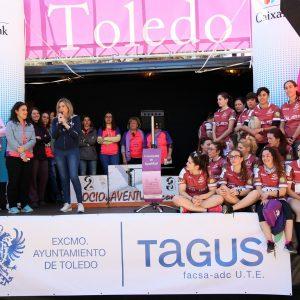 a alcaldesa invita a la sociedad toledana a seguir reivindicando la igualdad entre mujeres y hombres los 365 días del año
