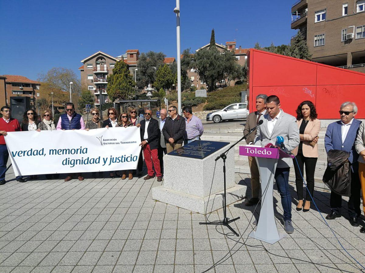 http://www.toledo.es/wp-content/uploads/2019/03/acto-homenaje-victimas-del-terrorismo-1200x900.jpeg. La Corporación municipal se suma al Día Europeo de las Víctimas del Terrorismo en el 15 aniversario de los atentados del 11 M