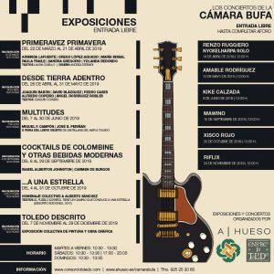 Los Conciertos  de la CÁMARA BUFA: RENZO RUGGIERO y NYCKELHARPA SOLO