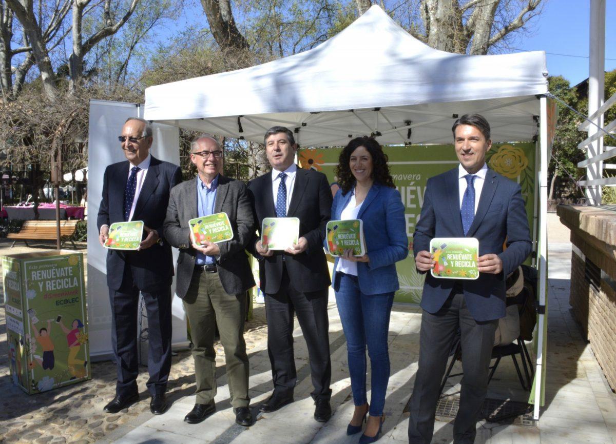 https://www.toledo.es/wp-content/uploads/2019/03/campana-greenweek-02-1200x866.jpg. El Ayuntamiento apoya la campaña #GreenWeek19 para fomentar el reciclaje de los residuos de aparatos eléctricos y electrónicos