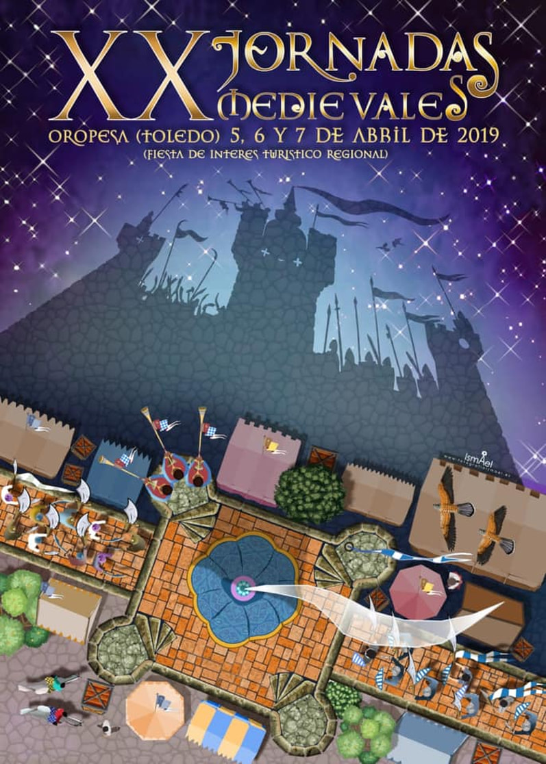 http://www.toledo.es/wp-content/uploads/2019/03/cartel-jornadas-2019_1.jpg. Excursión a las XX Jornadas Medievales de Oropesa
