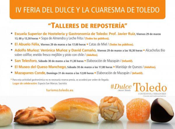 Cartel Talleres IV Feria Dulcejpg