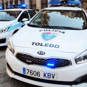 a Policía Local denuncia a dos jóvenes a los que sorprendió pintando grafitis en la calle Reyes Católicos del Casco histórico