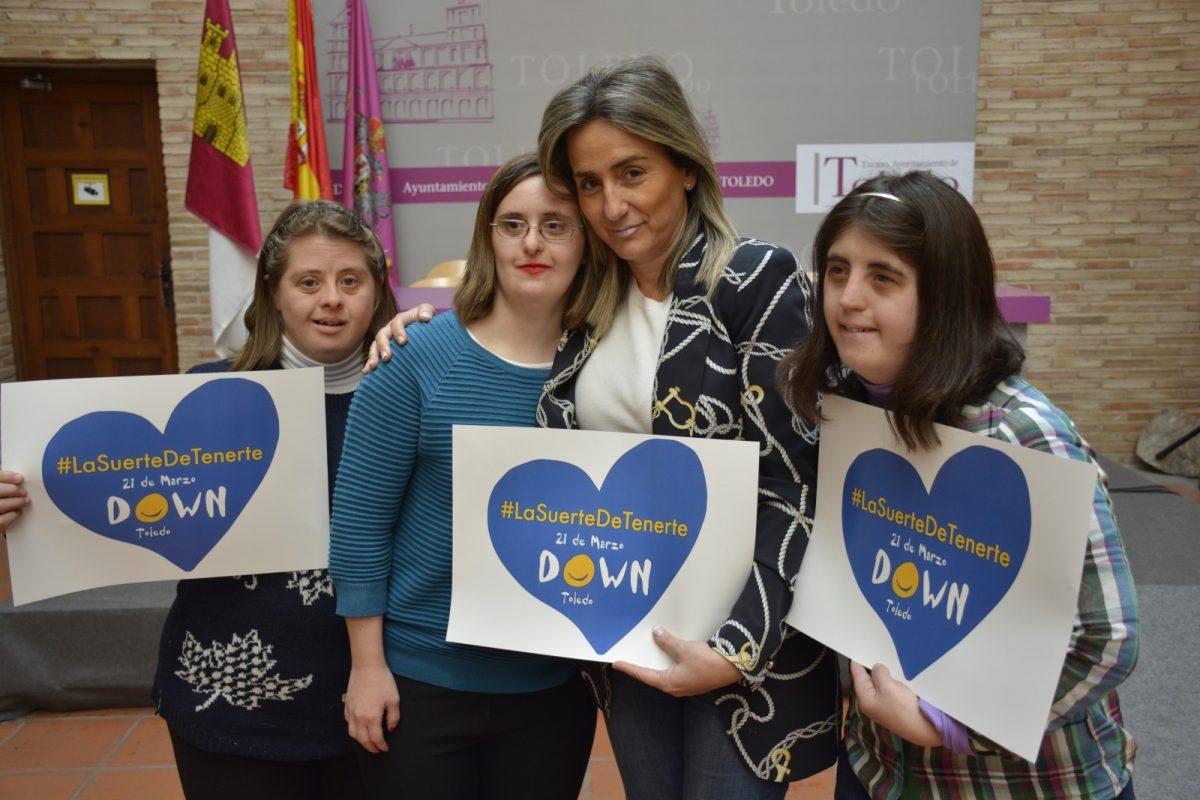https://www.toledo.es/wp-content/uploads/2019/03/dsc1119-1200x800.jpg. El Ayuntamiento colabora en la Semana de las Personas con Síndrome de Down que lleva por lema 'La suerte de tenerte'