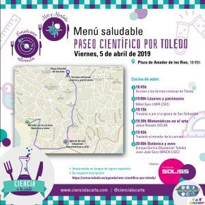 Paseo  científico por Toledo