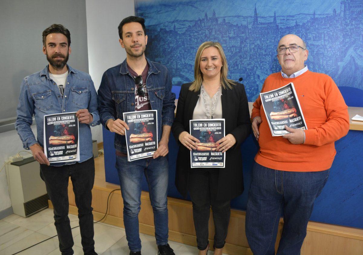https://www.toledo.es/wp-content/uploads/2019/03/foto-toledo-en-concierto-01-1200x842.jpg. El festival 'Toledo en concierto' apuesta por bandas exclusivas de rock nacional para su segunda edición el 6 de abril en Toletvm