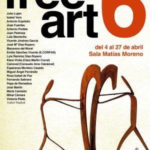Exposición de escultura, cerámica y pintura FREE ART VI