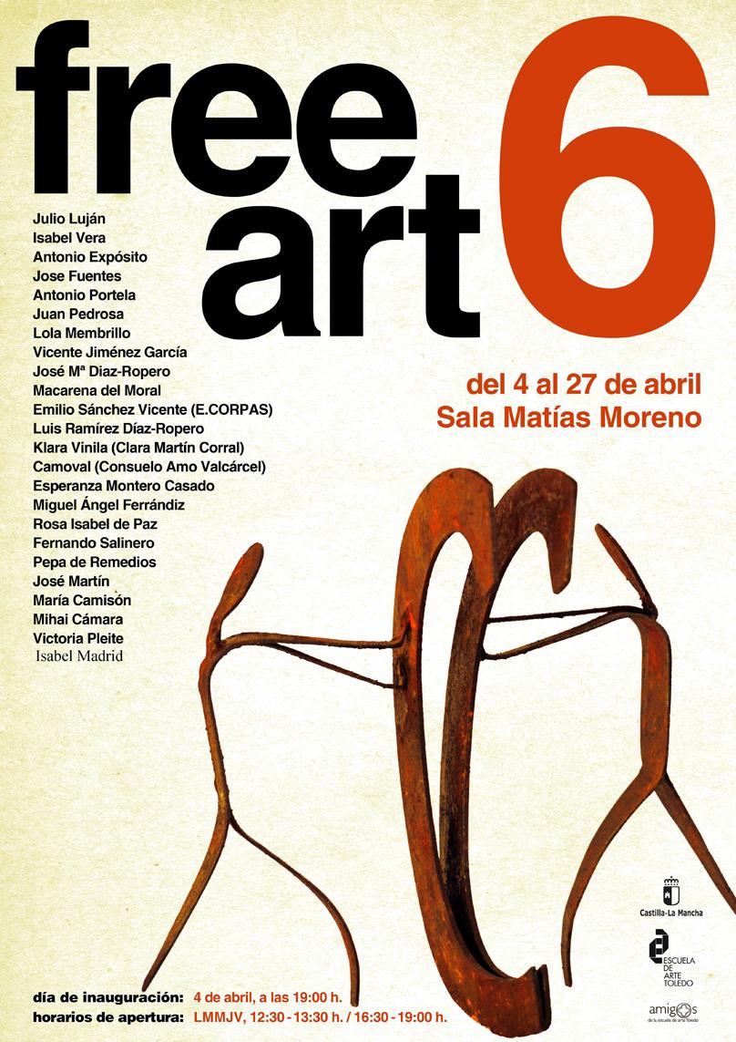 https://www.toledo.es/wp-content/uploads/2019/03/free-art-r.jpg. Inauguración Exposición de escultura, cerámica y pintura FREE ART VI