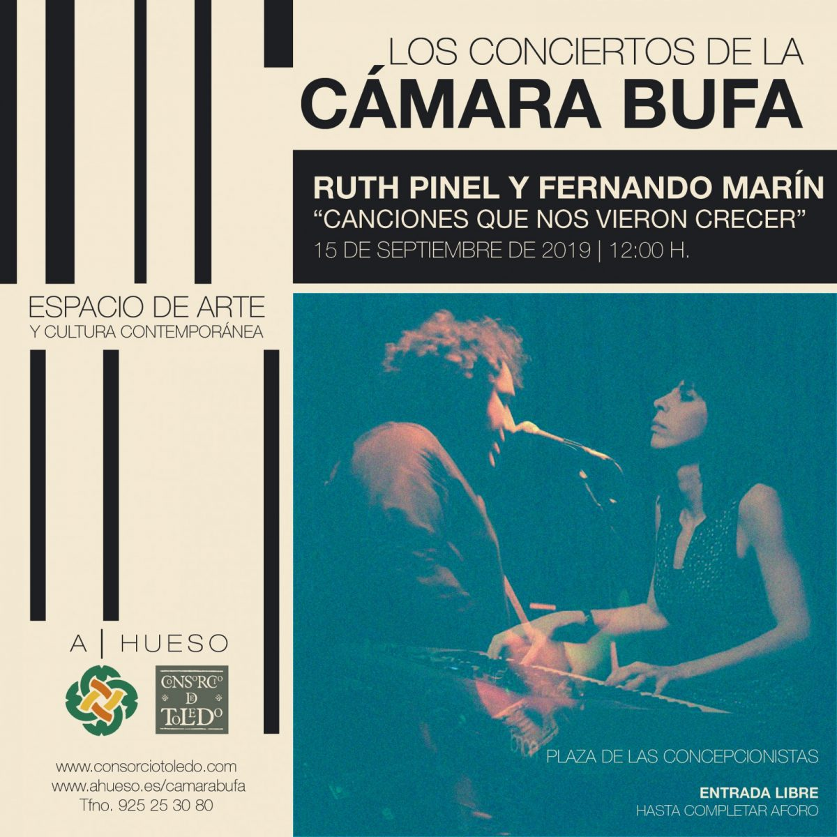 http://www.toledo.es/wp-content/uploads/2019/03/img_9495-1200x1200.jpg. Los Conciertos de la CÁMARA BUFA: Ruth Pinel y Fernando Marín