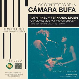 Los Conciertos de la CÁMARA BUFA: Ruth Pinel y Fernando Marín