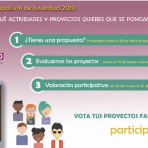n total de 39 actividades pasan a la fase de votación de los presupuestos participativos para la programación juvenil del 2019