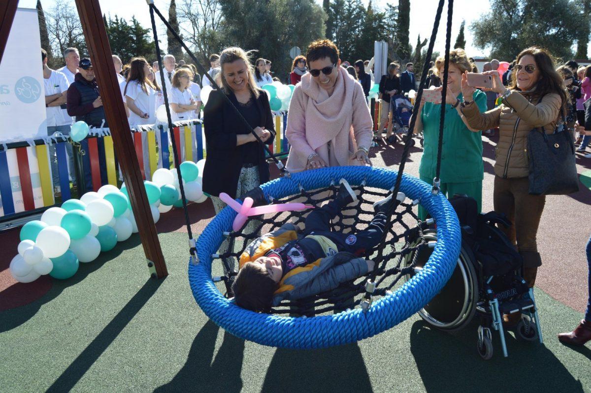 http://www.toledo.es/wp-content/uploads/2019/03/maria-teresa-puig_aspaym_1-1200x798.jpg. El Ayuntamiento respalda la actividad de Aspaym y asiste a la apertura del nuevo parque infantil inclusivo del Hospital Nacional de Parapléjicos