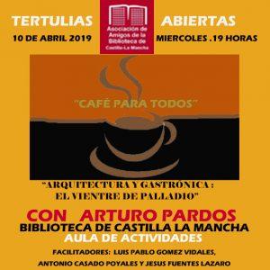 "Tertulias abiertas ""Café para todos"""