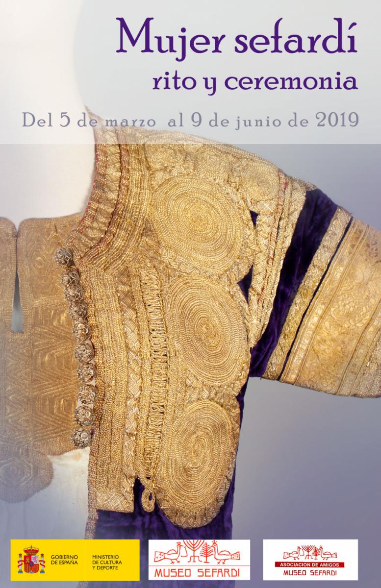 http://www.toledo.es/wp-content/uploads/2019/03/museo-sefardi-777x1200.png. Exposición Mujer sefardí: rito y ceremonia