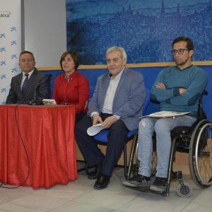l Club Toletum Kayak promueve con el Ayuntamiento el deporte inclusivo con jornadas de piragüismo y actividades alternativas