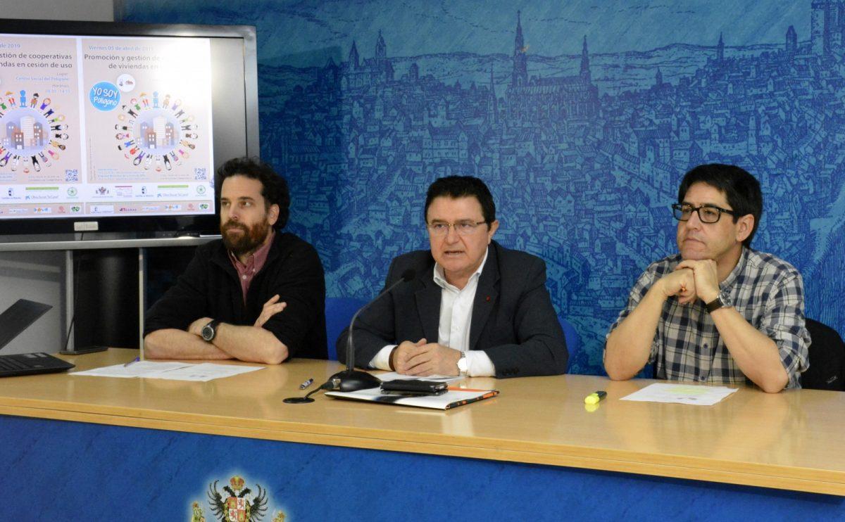 http://www.toledo.es/wp-content/uploads/2019/03/presentacion-jornada-vivienda-01-1200x742.jpg. El Ayuntamiento impulsa la II Jornada Técnica de Vivienda del Polígono centrada en el cohousing o viviendas colaborativas