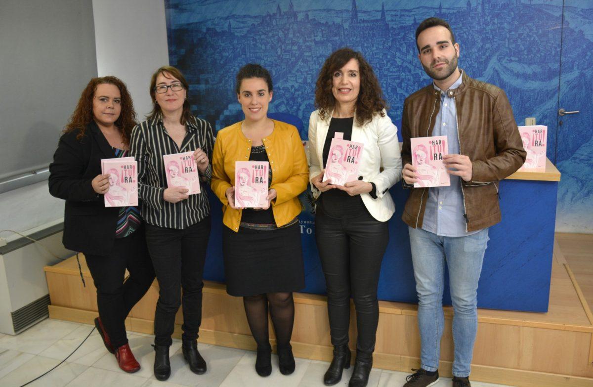 http://www.toledo.es/wp-content/uploads/2019/03/presentacion-libro-hartura-02-1200x783.jpg. 'Hartura', el poemario para remover conciencias en torno a la violencia machista, se presenta en Toledo con el apoyo del Ayuntamiento