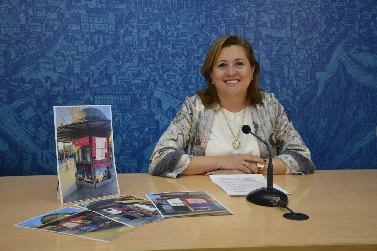 http://www.toledo.es/wp-content/uploads/2019/03/rosana_quiosco-zocodover-1200x800.jpg. El quiosco de Zocodover abre como punto de información turística para reforzar el servicio de la oficina de turismo de San Marcos