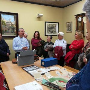 l Club de Lectura visita el Archivo