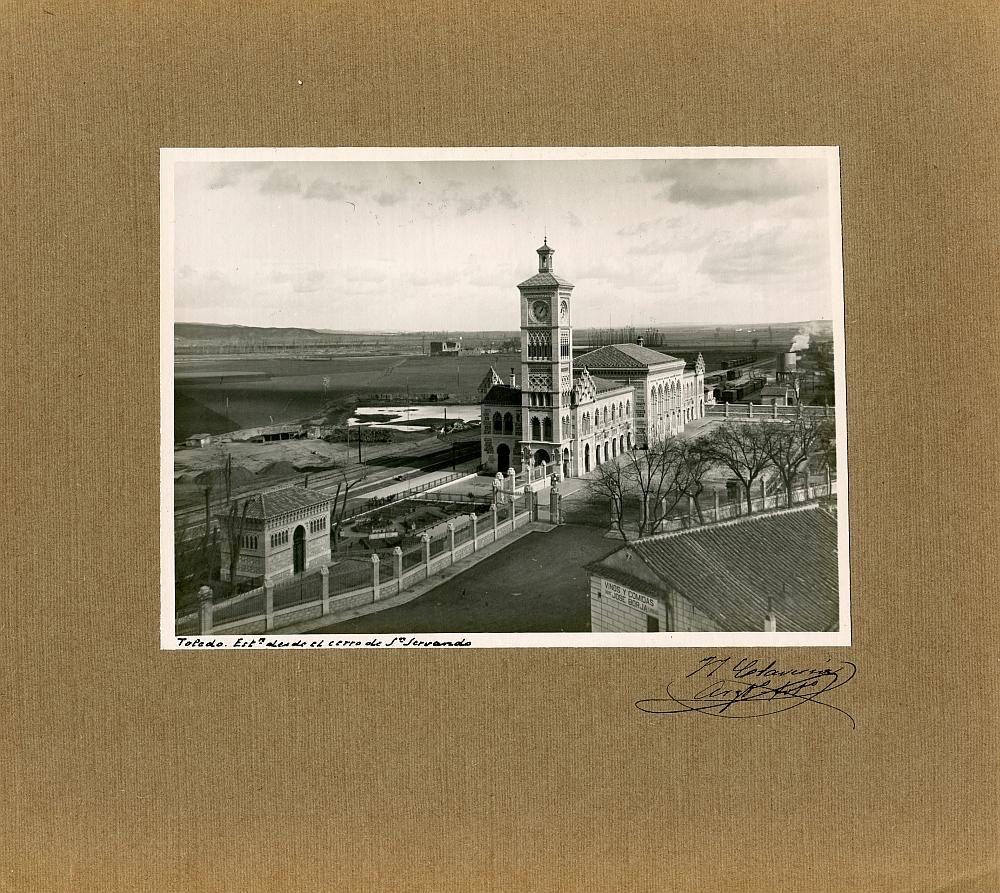 http://www.toledo.es/wp-content/uploads/2019/04/01_vista-general-1.jpg. Exposición virtual sobre el centenario de la Estación del Ferrocarril