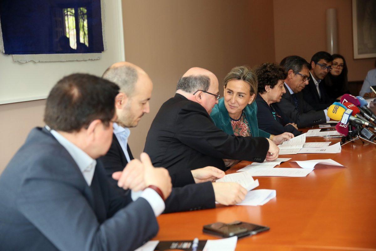 http://www.toledo.es/wp-content/uploads/2019/04/02_festival_el_greco-1200x800.jpg. Milagros Tolón destaca que la colaboración entre instituciones y entidades hace posible el VI Festival de Música El Greco en Toledo