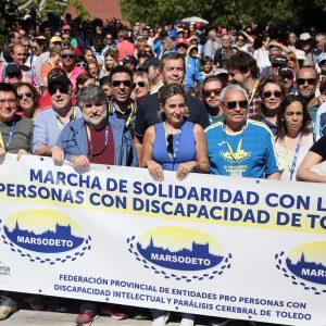"""ilagros Tolón: """"Toledo puede presumir del músculo social que forman las entidades de Marsodeto con el objetivo de la inclusión"""""""