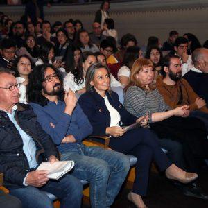 """a alcaldesa destaca """"el amor por la cultura"""" de los jóvenes participantes en los conciertos didácticos 'Música para despertar'"""