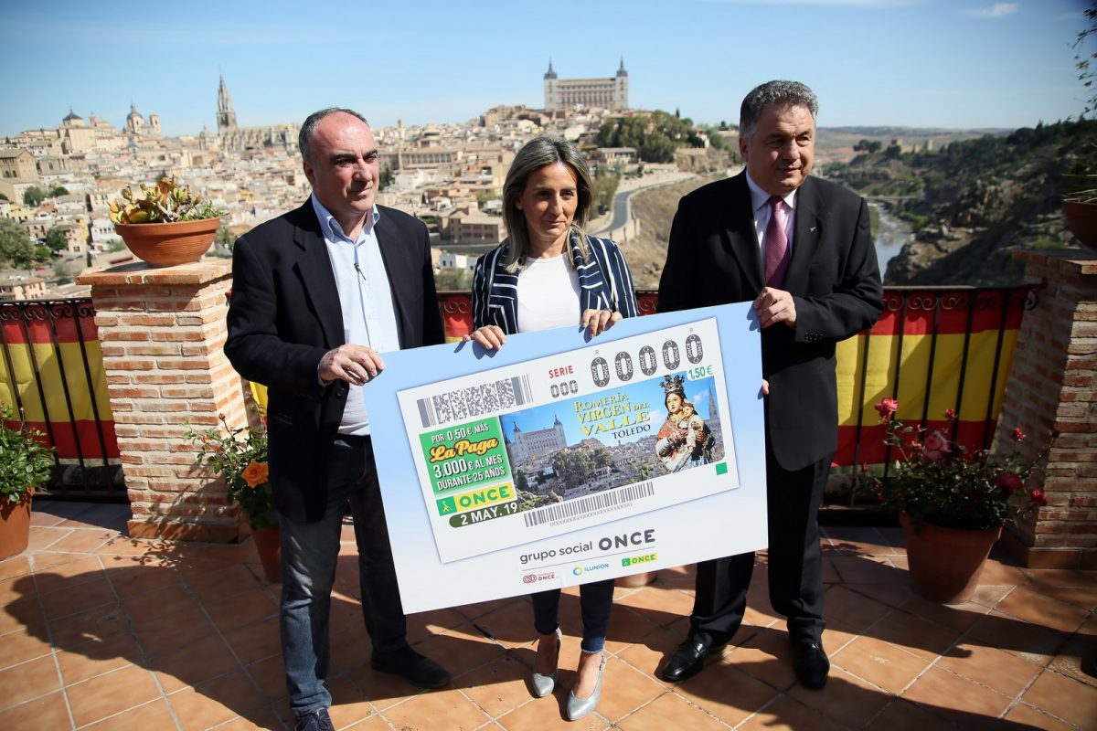 http://www.toledo.es/wp-content/uploads/2019/04/05_cupon_11_valle-1200x800.jpg. La ciudad de Toledo vuelve a ser protagonista del cupón de la ONCE este jueves con la tradicional romería de la Virgen del Valle