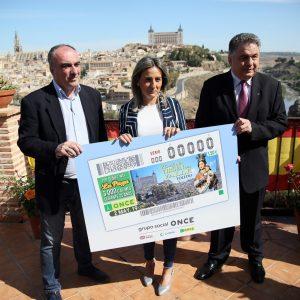 a ciudad de Toledo vuelve a ser protagonista del cupón de la ONCE este jueves con la tradicional romería de la Virgen del Valle