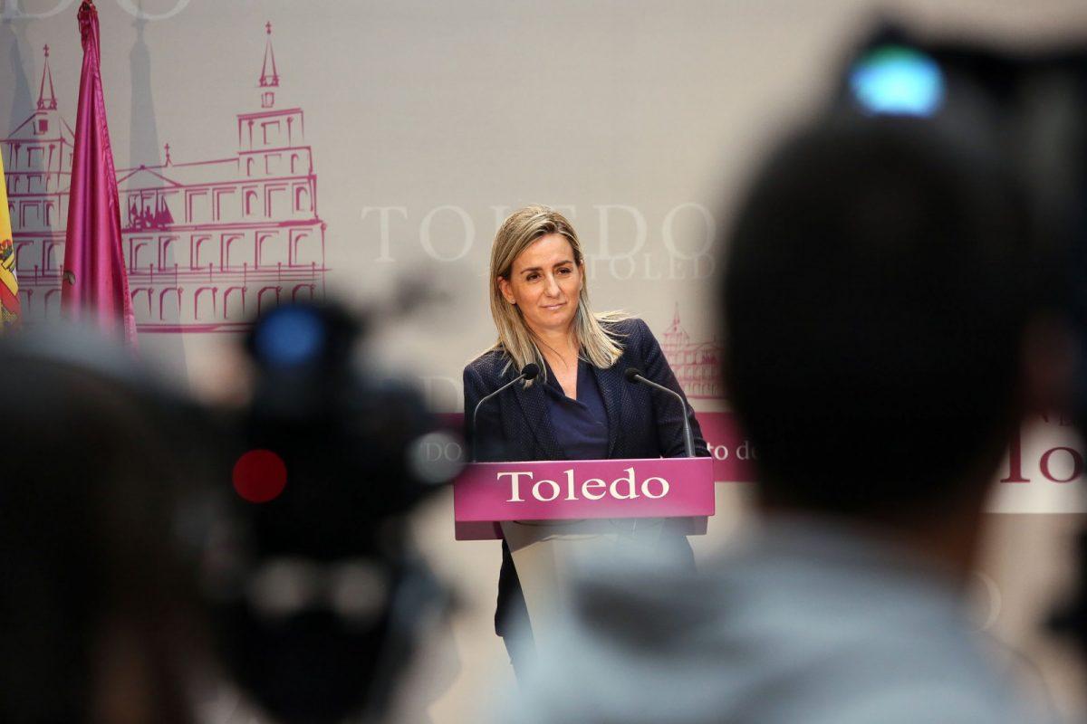 """http://www.toledo.es/wp-content/uploads/2019/04/06_presentacion_pagina_web-1200x800.jpg. Milagros Tolón: """"El nuevo trasvase aprobado este lunes supone un nuevo atentado medioambiental para el río Tajo y para Toledo"""""""