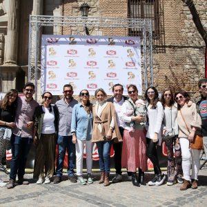 ilagros Tolón destaca la posibilidad de aunar gastronomía, arte y cultura en el V Campeonato Solidario de Cortadores de Jamón