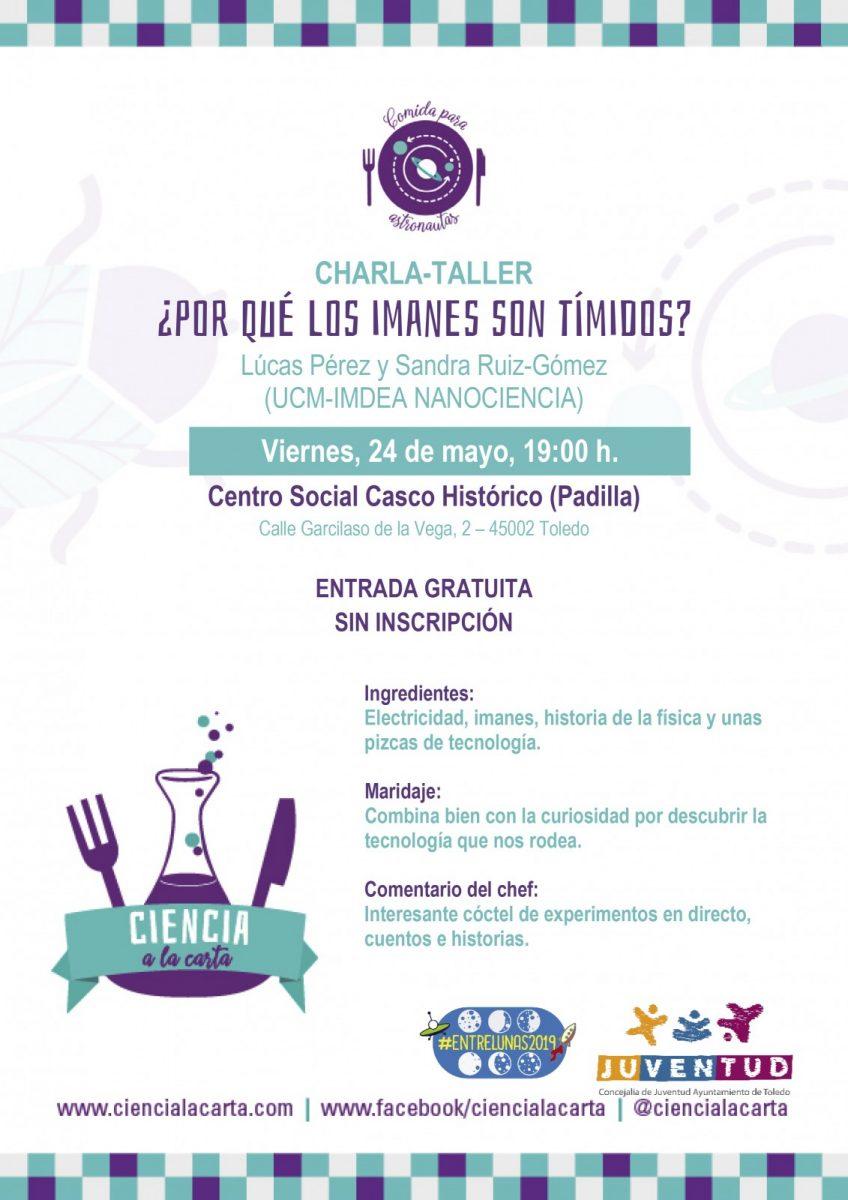 """http://www.toledo.es/wp-content/uploads/2019/04/20190524-imanes-timidos-848x1200.jpg. Taller """"¿Por qué los imanes son tímidos?"""""""