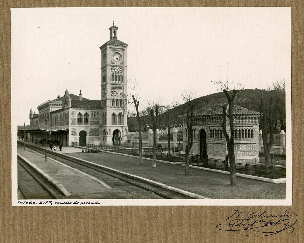 http://www.toledo.es/wp-content/uploads/2019/04/alba-cufo-06-001.jpg. Celebramos el centenario de nuestra Estación de Tren con una exposición
