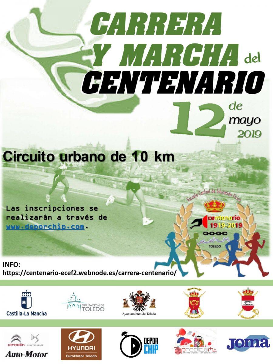 http://www.toledo.es/wp-content/uploads/2019/04/cartel-carrera-del-centenario-900x1200.jpg. Carrera y Marcha del Centenario de la Escuela Central de Educación Física