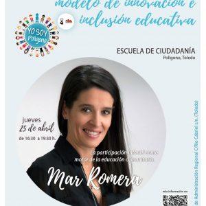 DUCACION COMUNITARIA COMO MODELO DE INNOVACION E INCLUSION EDUCATIVA. 25 Abril.