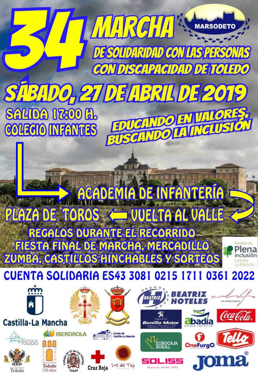 http://www.toledo.es/wp-content/uploads/2019/04/cartel-marcha-2019-def-826x1200.jpg. 34 Marcha Marsodeto de Solidaridad con las Personas con Discapacidad de Toledo