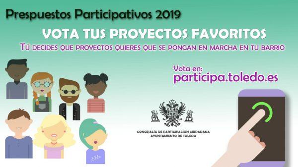 Cartel Presupuestos Participativos 2019