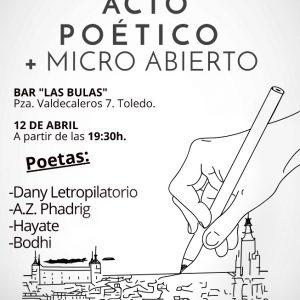 Acto Poético + Micro Abierto