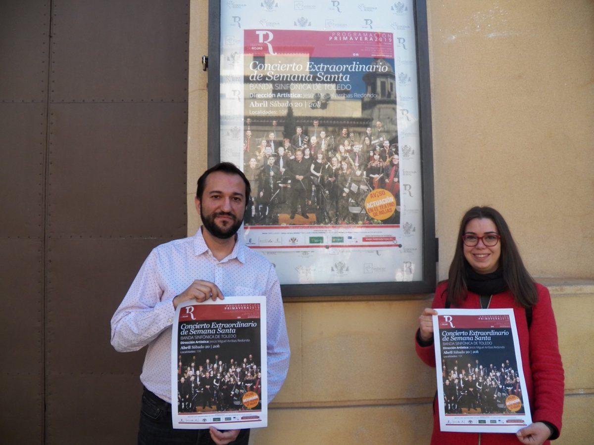 http://www.toledo.es/wp-content/uploads/2019/04/concierto-semana-santa-1200x900.jpg. La Banda Sinfónica de Toledo ofrece este sábado en el Teatro de Rojas con más de 40 músicos su gran concierto de Semana Santa