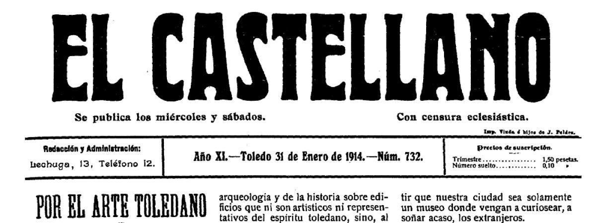 La colección digital del periódico toledano El…