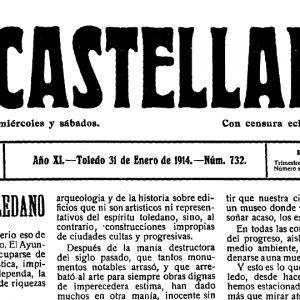 a colección digital del periódico toledano El Castellano (1904-1936) ya es acccesible